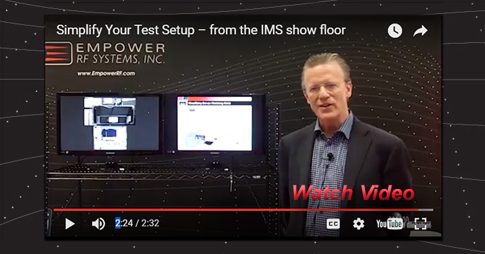 Video from the IMS show floor