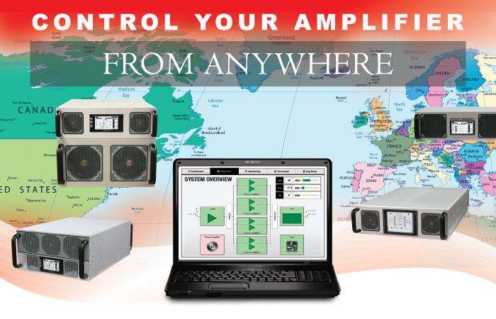 Control your Amplifier from Anywhere
