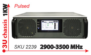S-Band Magnetron Driver 2.9 to 3.5GHz